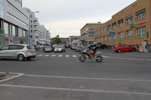 Trafikk på Ensjø 014