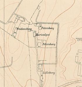 Petersborg kart fra 1900