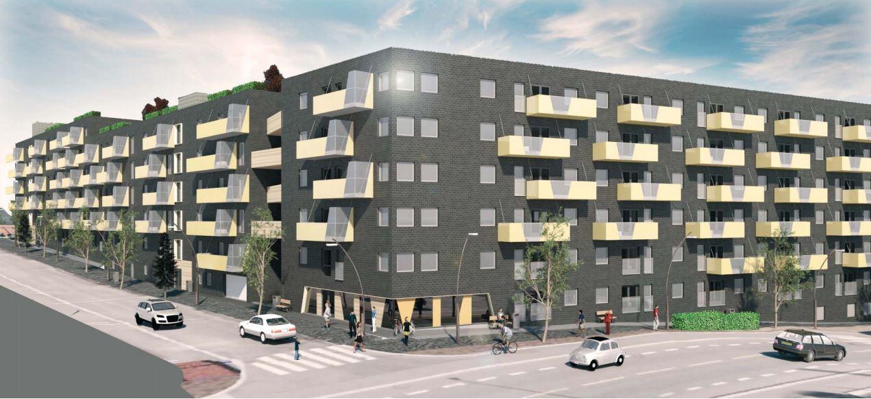 Skanska skal bygge 251 nye boliger i Sigurd Hoels gate 1 på Ensjø