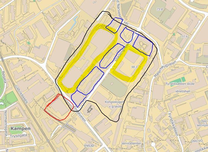 ensjø kart Politikerne i Oslo vil premiere en grunneier på Ensjø som ikke