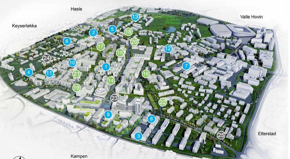 ensjø kart Hva skjer på Ensjø og hvordan kan det bli – sjekk kommunens 3D kart