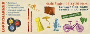 loppemerked Hasle 2017