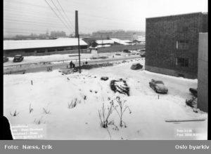 Ensjø tbane 1958