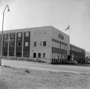 Jarlsberg Mineralvannfabrikk. Juni 1961