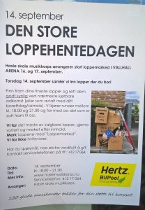 loppehente dagen 14 september
