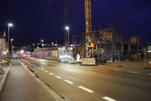 Ensjøveien stengt om natta 011