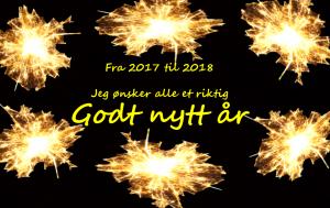 Godt nytt år 2018