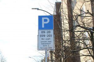 Parkering på Ensjø jan 2018 (2)