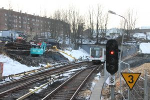 Ensjø tbane stengt (19)