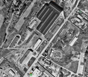 gladengveien 1947 flyfoto