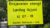 Har du planer om å kjøre bil på eller igjennom Ensjø lørdag 16. juni, så vil det ikke være så lett. I forbindelse med at Ensjødagen avholdes denne dagen så […]