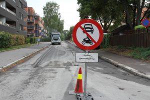 Hovinveien asfalt (2)