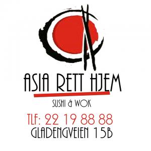 asia rett hjem