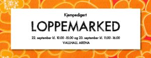 loppemarked i Vallhall a