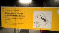I dag fredag 21. oktober ble deler av Ensjø T-banestasjon stengt. Dette gjelder inngangen/utgangen ved Rolf Hofmos gate i begge retninger. Det er satt opp sperringer og sperrebånd samt […]