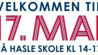 Alle i lokalmiljøet på er hjertelig velkommen til å gå i tog med korpset når Hasle og Teglverket inviterer små og store i lokalmiljøet til 17. mai-moro på Hasle skole. […]