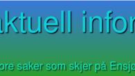 Ensjø aktuell informasjon har snart holdt på i 11 år med blogging om Ensjø og nærområdene. Dette foregår i dag på en wordpress plattform. Tidligere ble bloggen skrevet på et […]